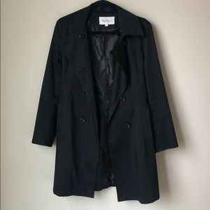 MaxMara black trench coat